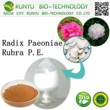 China manufacturer supplying Radix Paeoniae Rubra P.E.