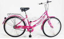 24 pulgadas de una sola velocidad bicicleta de adulto / señora de la bici / de la bicicleta / moto china