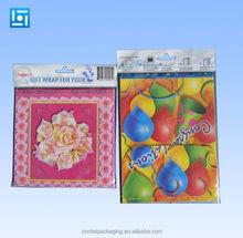 custom logo header high quality wholesale opp bag /opp poly bag packaging /opp plastic bag with custom printing