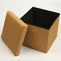 OTM HStex foldalbe storage ottoman for summer stand over 300kgs high quality