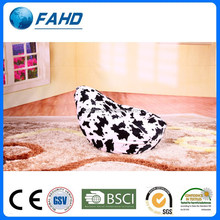 Triangle cow print lazy bag sofa Adult bean bag chairs