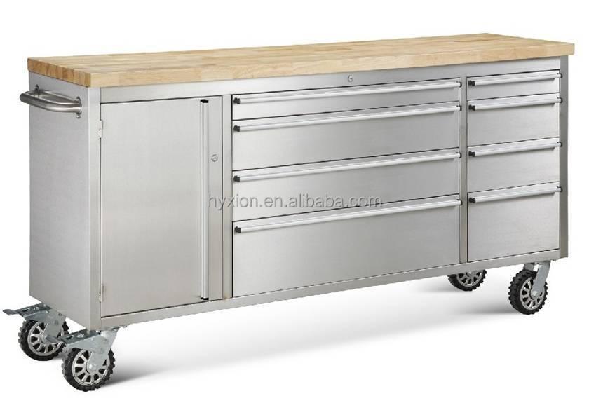 72 inch rolling storage cabinet four caster large tool chest buy 72 inch tool chest large tool. Black Bedroom Furniture Sets. Home Design Ideas
