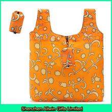 Printing foldable bag pouch nylon shopping bag