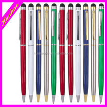 Metal brand New Design Stylus Pen High-grade conductive touch stylus ballpoint pen high quality metal ballpen