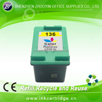 printing consumables! ink cartridge for hp 136