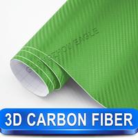 Guangzhou Eagle Carbon Fiber Suppliers High Quality green auto carbon fiber wrap vinyl film