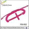 2015 china manufacturers aliexpress resin pink bracelet with cross for girl