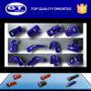 high performance blue long life span silicone piping for racing car/ large range of sizes