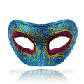 metade do rosto de carnaval máscara decorativa para o homem
