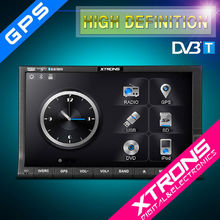 """Xtrons 7"""" Universal Digital Touch Screen Double Din Car DVD Player with GPS/Digital TV Receiver DVB-T MPEG-4"""