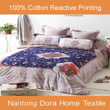 wholesale home use quality reactive print bedlinen