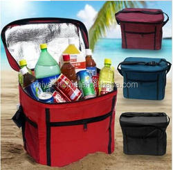 Travel Outdoor Cooler Waterproof Lunch Bag Tote Box Container / Waterproof Insulated Cooler Bag
