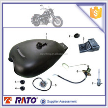 TC200 Chopper motorcycle fuel tank, fuel level meter, motorcycle fuel tank lock kits, motorcycle parts