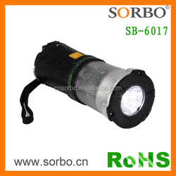 Camping Rainproof LED Lantern with SOS Red Flash Emergency Light