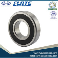 High Performance Deep Groove Ball Bearing 6200 for Motor and Car Made in Cixi