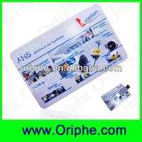 New Arrival!!! Smart card type USB flash drive, USB flash drive card
