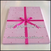 Multi style,Repeated use custom coloring craft& gift paper boxes with design