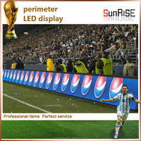 Football Field Project 6.4M X 4.8M Outdoor Led Screen Board/Waterproof/High Definition -P16 Stadium Led Displays
