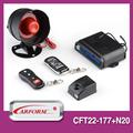 Preço barato anti roubar controle remoto sistema de alarme de carro