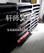 exhibition rack for white brushed engineered wood flooring in foshan