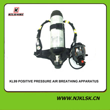Nomex anti-fire material 45-60mins working time positive pressure air breathing apparatus