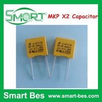 Smart bes 104K/275VAC 0.1UF P=10 Anti-interference Capacitor MKP X2 Capacitor, Capacitor 0.1uf x2 275v