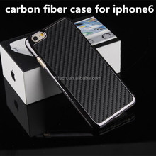 Carbon Fiber Back Cover for iphone 6 black,for iPhone 6 Carbon Fiber Case
