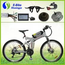 shuangye 24 speed gears fashion mountain electric bike prices