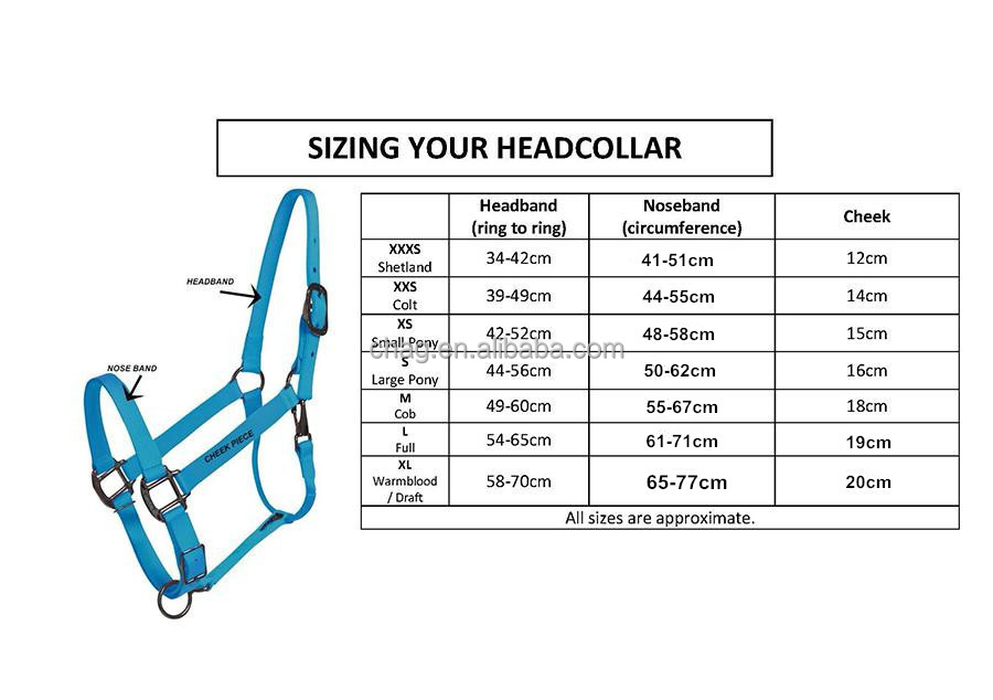 New Horse Halter Size 0707