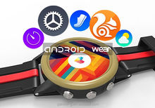 Android Wear Smart watch M200,heart rate watch with pulse alarm clock and stainless steel watch strap smart watch m200