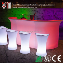 16 Color Change Cheap Led Bar Table/Led Bar Counter
