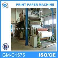 machine can make straw into paper, toilet tissue paper making machine
