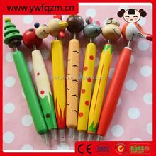 Wood Cheap Ballpoint Pen for kids