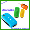 silicone car key cover for promoiton/ silicone key cover wholesales