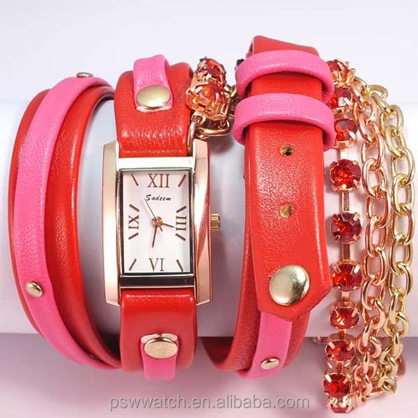 2015 hot selling bracelet lady watch fashion women watch wholsale bracelet watch from lady
