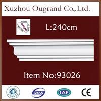decorative materials polyurethane foam cornice board