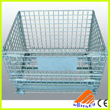 nanjing supplier designed pet cages,stackable storage bin,metal container