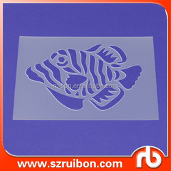 Custom pvc/pp/plastic drawing stencil