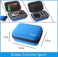 TELESIN Digital Bag camera Accessories EVA Camera Storage Small Bags For Go Pro GoPros hero4 2 3+ Black Camera Case