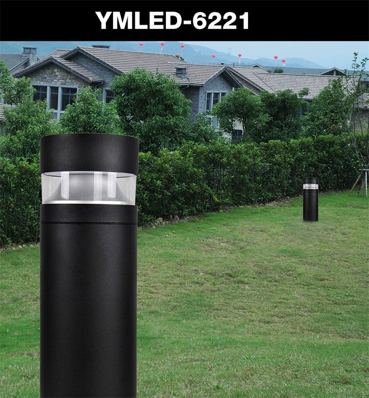 110v 8w ip65 waterpfoof LED bollard garden lamp