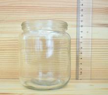hot sale plain clear jam glass jars glass jars made in China