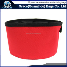 foldable and portable travel collapsible dog bowl for both water and food feeder