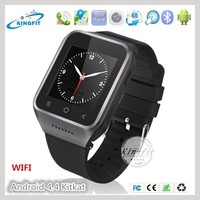 """Hot selling 1.54"""" touch screen 3g WCDMA 2G gsm android jav GPS watch mobile phone cell phone"""