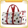 China wholesale PU material traveling bag weekend leisure duffel bag