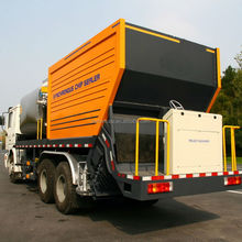 Bitumen Synchronous Gravel Chip Sealer truck Export