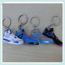 Promotional pvc jordan shoe key chain with cheap price