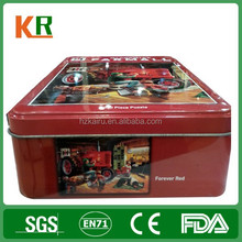 Red color packing board game box printing with SGS certificate