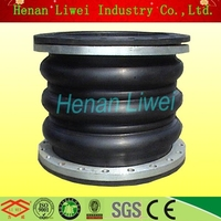 Three ball flexible water pipeline rubber expansion joint guangzhou