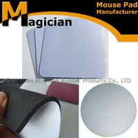 China supplier specific gravity rubber sheet with mesh fabric
