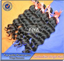 Hot new hair productos para 2014 china de guangzhou YNX pelo, la mejor calidad real del pelo camboyano armadura natural